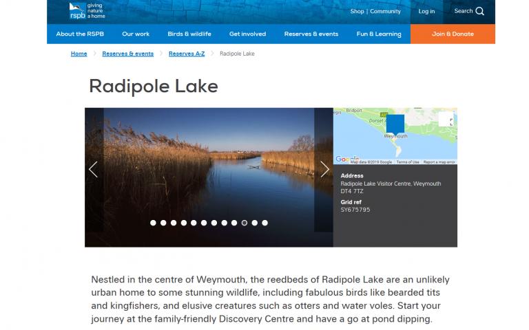 Radipole Lake Nature Reserve