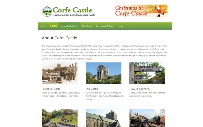 Corfe Castle, Wareham
